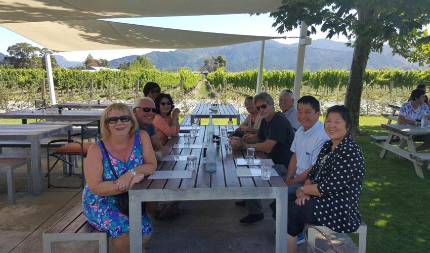 Winery Lunch Marlborough